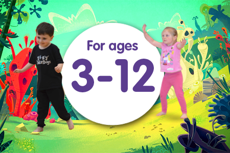 Fantastic DanceBugs Birthday Parties for kids aged 3 to 12!